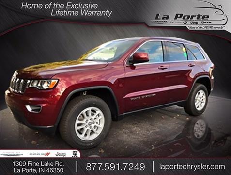 2018 Jeep Grand Cherokee for sale in La Porte, IN