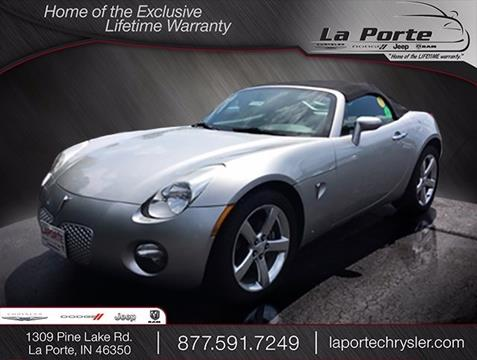 2006 Pontiac Solstice for sale in La Porte, IN