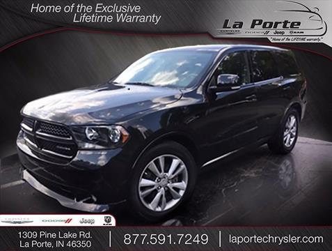 2012 Dodge Durango for sale in La Porte, IN