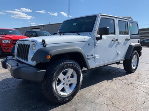 2016 Jeep Wrangler Unlimited for sale in La Porte, IN