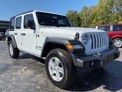 2018 Jeep Wrangler Unlimited for sale in La Porte, IN