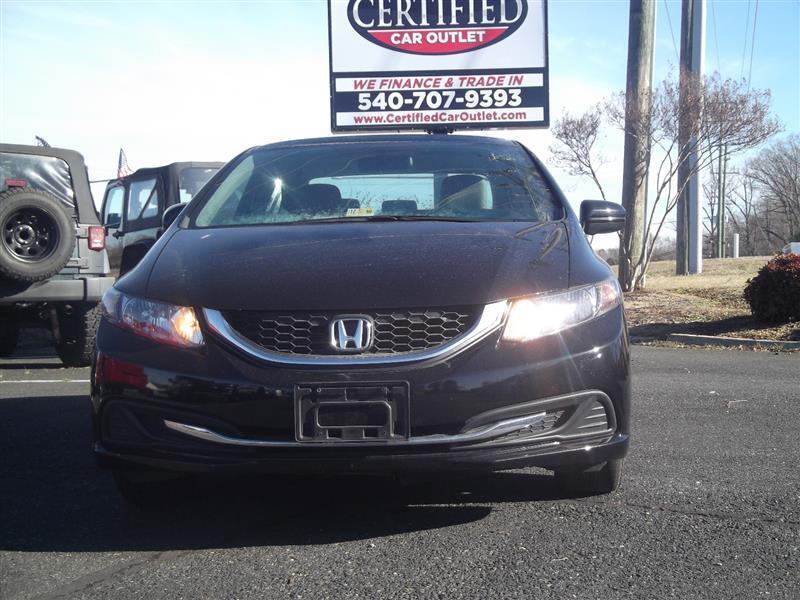 2015 Honda Civic For Sale At Certified Car Outlet In Spotsylvania VA