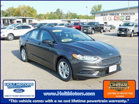 2018 Ford Fusion for sale in Cokato, MN