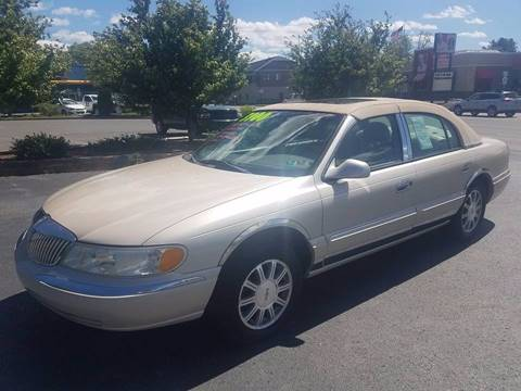 2001 Lincoln Continental for sale in Lewisburg PA