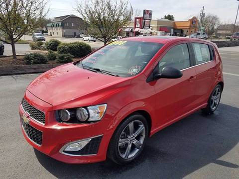 2013 Chevrolet Sonic for sale in Lewisburg, PA