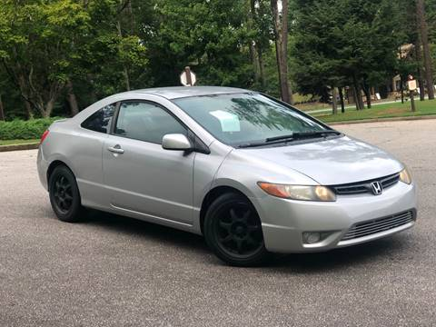 2006 Honda Civic for sale at Atlanta United Motors in Buford GA