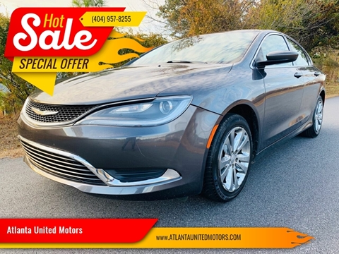 2015 Chrysler 200 for sale in Buford, GA