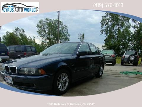 2003 BMW 5 Series for sale in Defiance, OH