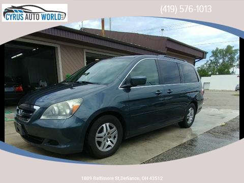 2005 Honda Odyssey for sale in Defiance OH