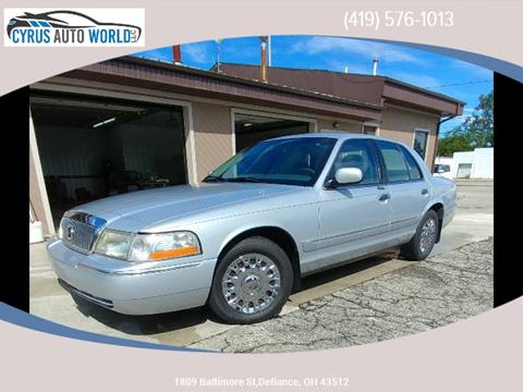 2003 Mercury Grand Marquis for sale in Defiance, OH