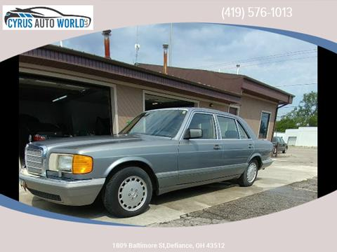 1987 Mercedes-Benz 560-Class for sale in Defiance OH