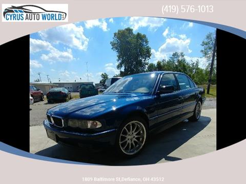 1999 BMW 7 Series for sale in Defiance OH
