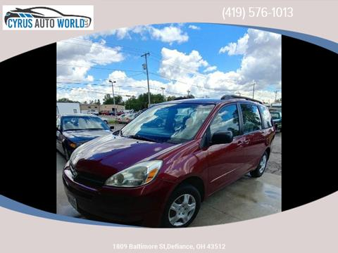 2005 Toyota Sienna for sale in Defiance OH