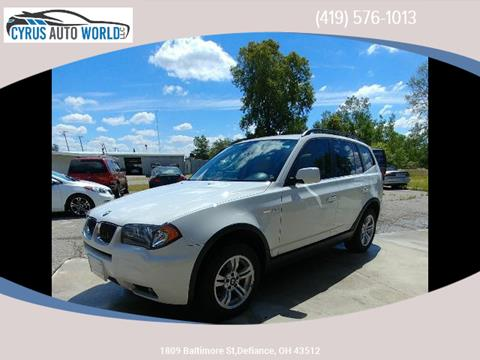 2006 BMW X3 for sale in Defiance OH