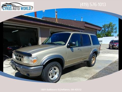 2001 Ford Explorer for sale in Defiance OH