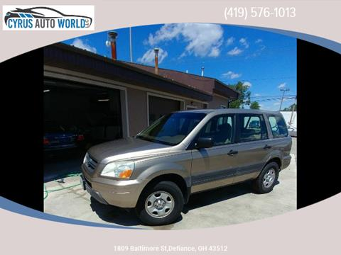 2005 Honda Pilot for sale in Defiance, OH