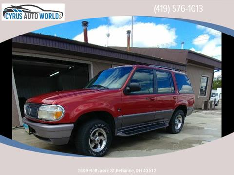 1997 Mercury Mountaineer for sale in Defiance OH