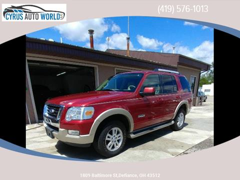 2006 Ford Explorer for sale in Defiance OH