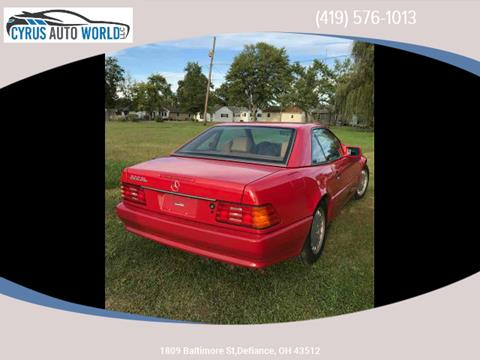1992 Mercedes-Benz 300-Class for sale in Defiance OH