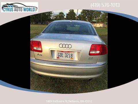 2006 Audi A8 for sale in Defiance OH