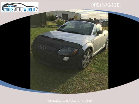 2001 Audi TT for sale in Defiance, OH