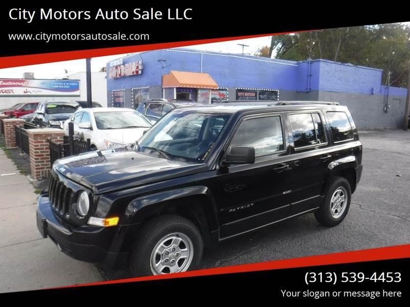 2015 Jeep Patriot For Sale In Redford Mi Carsforsale Com