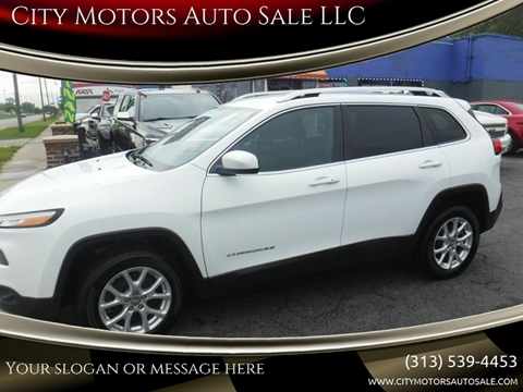 2016 Jeep Cherokee for sale in Redford, MI