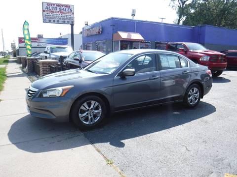 2011 Honda Accord for sale in Redford, MI