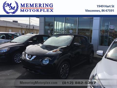 2017 Nissan JUKE for sale in Vincennes, IN