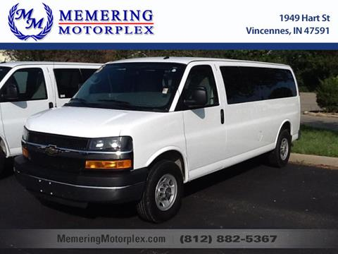 2015 Chevrolet Express Passenger for sale in Vincennes, IN