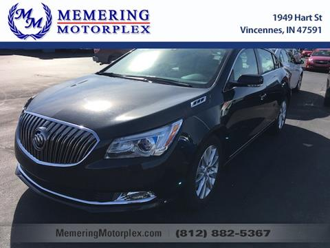 2015 Buick LaCrosse for sale in Vincennes, IN