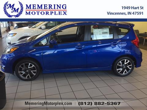 2017 Nissan Versa Note for sale in Vincennes, IN