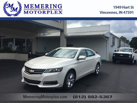 2014 Chevrolet Impala for sale in Vincennes, IN