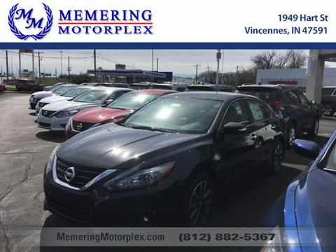 2017 Nissan Altima for sale in Vincennes, IN