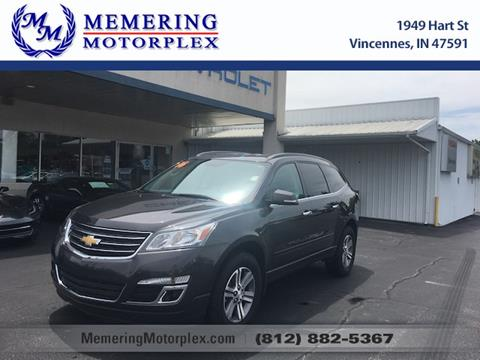 2016 Chevrolet Traverse for sale in Vincennes, IN