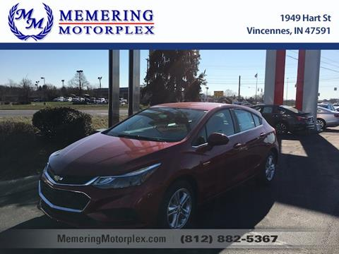 2017 Chevrolet Cruze for sale in Vincennes, IN