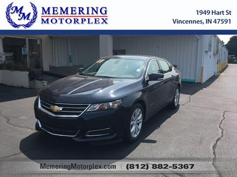 2017 Chevrolet Impala for sale in Vincennes, IN