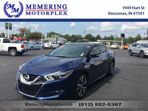 2016 Nissan Maxima for sale in Vincennes, IN