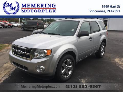 2012 Ford Escape for sale in Vincennes, IN