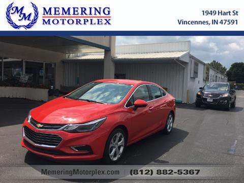 2017 Chevrolet Cruze for sale in Vincennes, IN