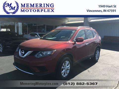 2015 Nissan Rogue for sale in Vincennes, IN