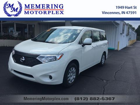 2015 Nissan Quest for sale in Vincennes, IN