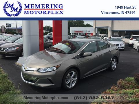 2017 Chevrolet Volt for sale in Vincennes, IN