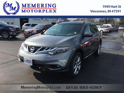 2013 Nissan Murano for sale in Vincennes, IN