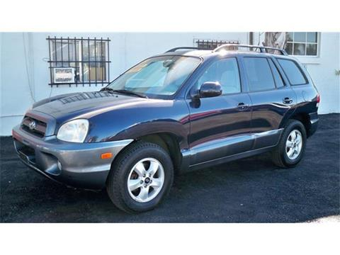 2005 Hyundai Santa Fe for sale in Antioch, CA