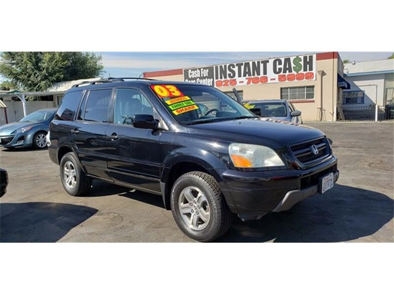 2003 Honda Pilot For Sale At Fresh Start Automobiles Inc. In Antioch CA