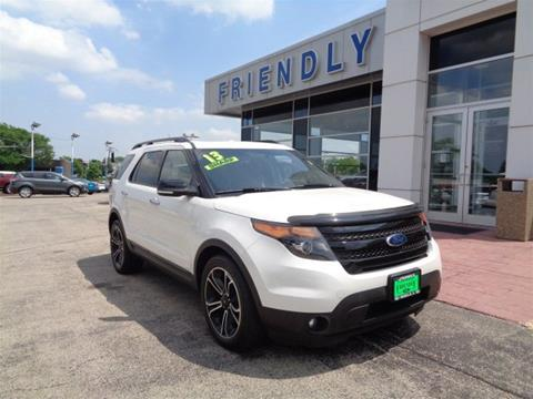 2013 Ford Explorer for sale in Roselle IL