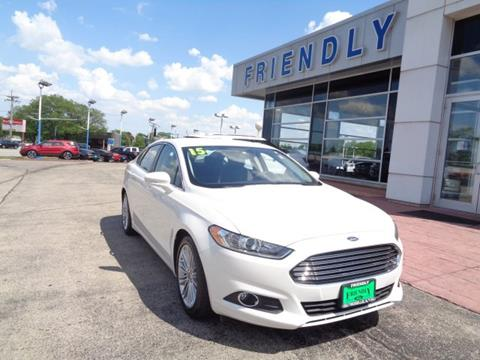 2015 Ford Fusion for sale in Roselle IL