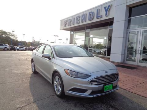 2018 Ford Fusion for sale in Roselle, IL