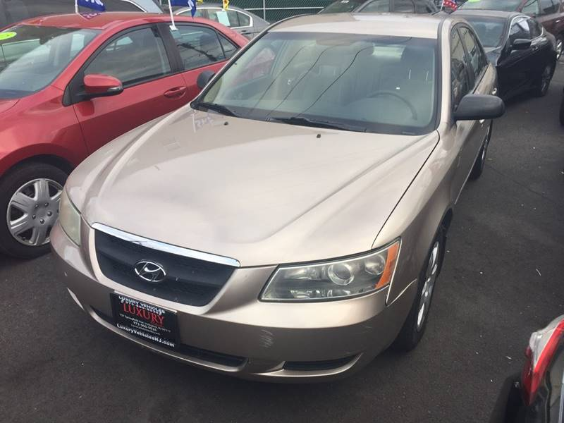 2007 Hyundai Sonata For Sale At Luxury Vehicles Nj In Irvington NJ